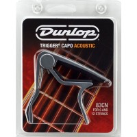 Dunlop Trigger Curved Acoustic Capo Nickel 83CN