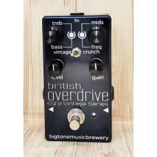 Big Tone Music Pedal British Overdrive