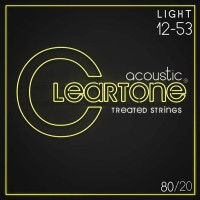Cleartone Treated 80/20 Bronze Acoustic String Gauge (12-53)