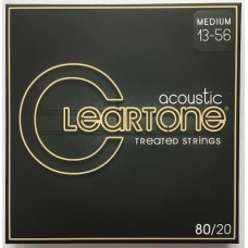 Cleartone Treated 80/20 Bronze Acoustic String Gauge (13-56)