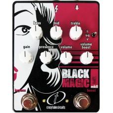 Crazy Tube Circuits Pedal Black Magic MK II (Boost+Distortion)