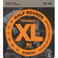D'Addario Half Rounds Electric Strings EHR310 Gauge(10-46)