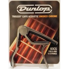 Dunlop Trigger Curved Acoustic Capo Smoke Black 83CS
