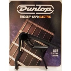 Dunlop Trigger Curved Electric Capo Black 87B