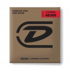 Dunlop 4 String Bass Flatwound DBFS45105