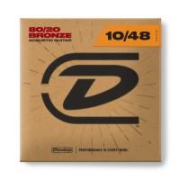 Dunlop Acoustic Guitar Strings 80/20 Bronze 10-48