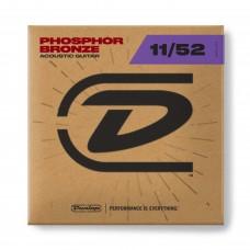 Dunlop Acoustic Guitar Strings Phosphor Bronze 11-52