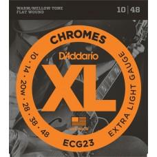 D'Addario Flat Wound  Electric Strings ECG23  Gauge(10-48)