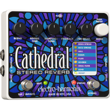 EHX Electro Harmonix Pedal Cathedral (Stereo Reverb)
