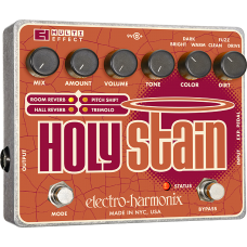 EHX Electro Harmonix Pedal Holy Stain (Distortion/Reverb/Pitch/Tremolo Multi-Effect)