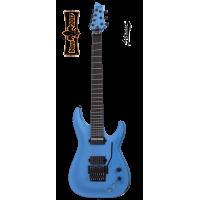 Schecter Guitar Keith Merrow KM-7 FR-S Lambo Blue
