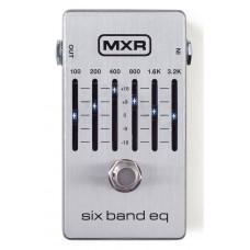 MXR Pedal 6 Band EQ M109S Sliver