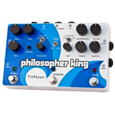 Pigtronix Pedal Philosophers King (Distortion and Sustainer)