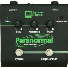 Seymour Duncan Pedal SFX-06 Paranormal Bass EQ DI Box