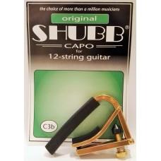 Shubb 12-String Acoustic Capo C3b